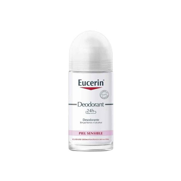 Eucerin Deodorant Roll-On Piel Sensible / 50 mL